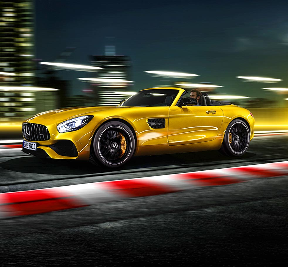 Mercedes AMG GT S Roadster con mayor potencia